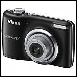 150 lei - Aparat foto digital Nikon Coolpix L23, Negru 10.1 megapixeli-l23black-jpg