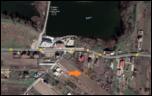 Vand teren intravilan 482mp Preajba-satelite-view-png