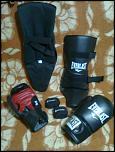 Set Everlast manusi, aparatoare picior si benzi mana pentru kickboxing-imagine1037-jpg