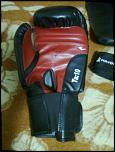Set Everlast manusi, aparatoare picior si benzi mana pentru kickboxing-imagine1033-jpg