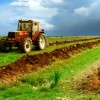 Agricultura, tractor, camp, pamant