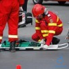 Craiova: Un taximetrist a făcut infarct în timp ce conducea pe...