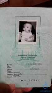 Pasaport Irina-Maria