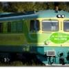 Locomotiva verde GFR cu motor  Diesel care functioneaza  doar cu biodiesel sau ulei vegetal